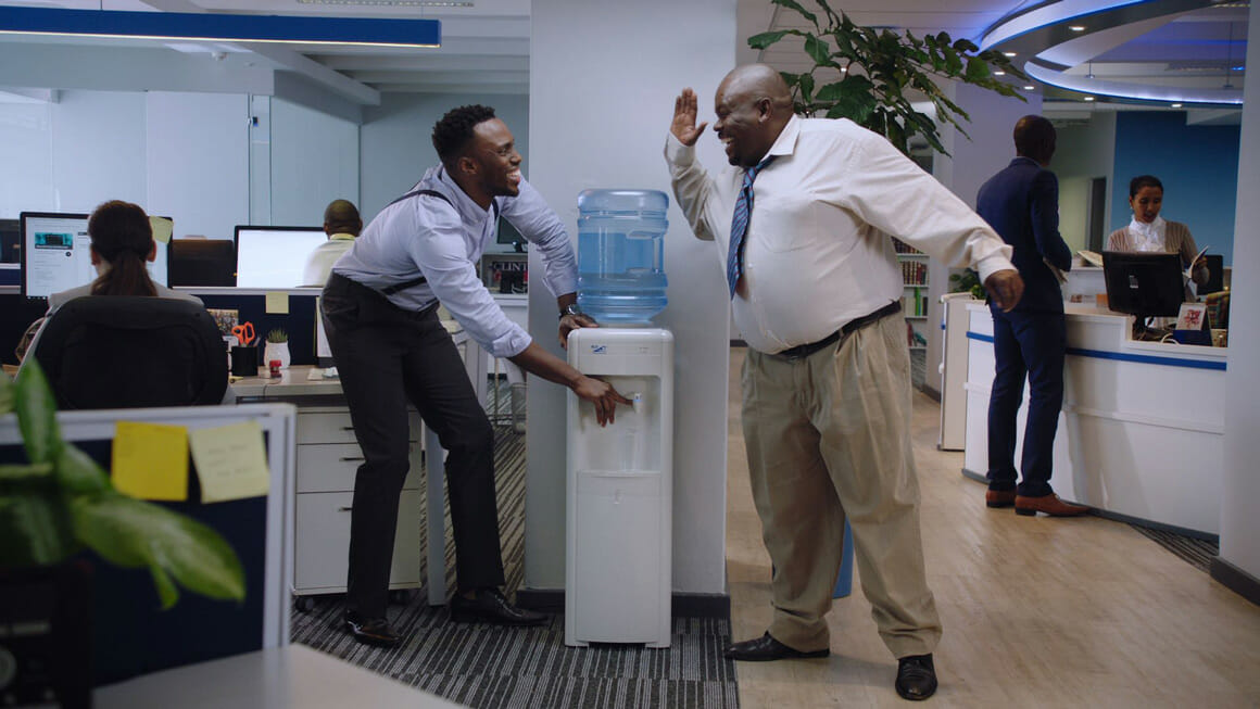 Water Cooler Weirdo - TVC